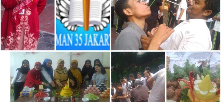 Kegiatan Perlombaan 17 Agustus di SMAN 35 Jakarta