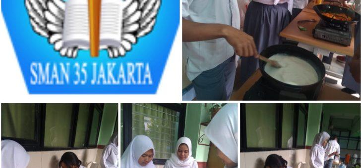 Wirausaha Siswa SMAN 35 Jakarta