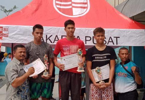 Siswa SMAN 35 Jakarta kembali meraih juara, Hartawan B. Rafael kelas X IPA 1 Juara 1 pada Lomba Renang Tingkat Jakarta Pusat