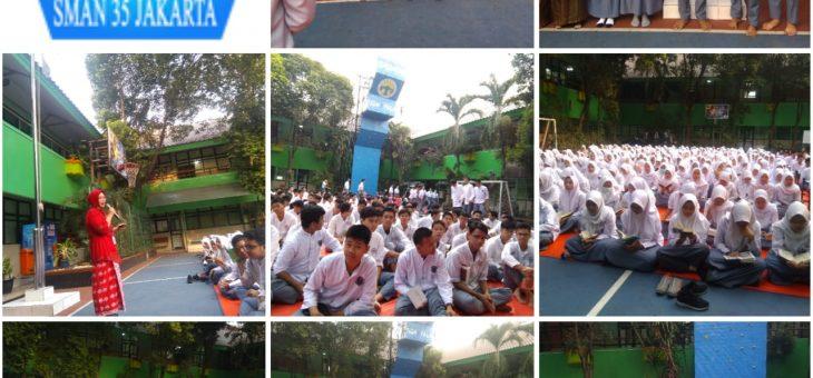 Memperingati  Hari Muharam 1441 H di SMAN 35 Jakarta